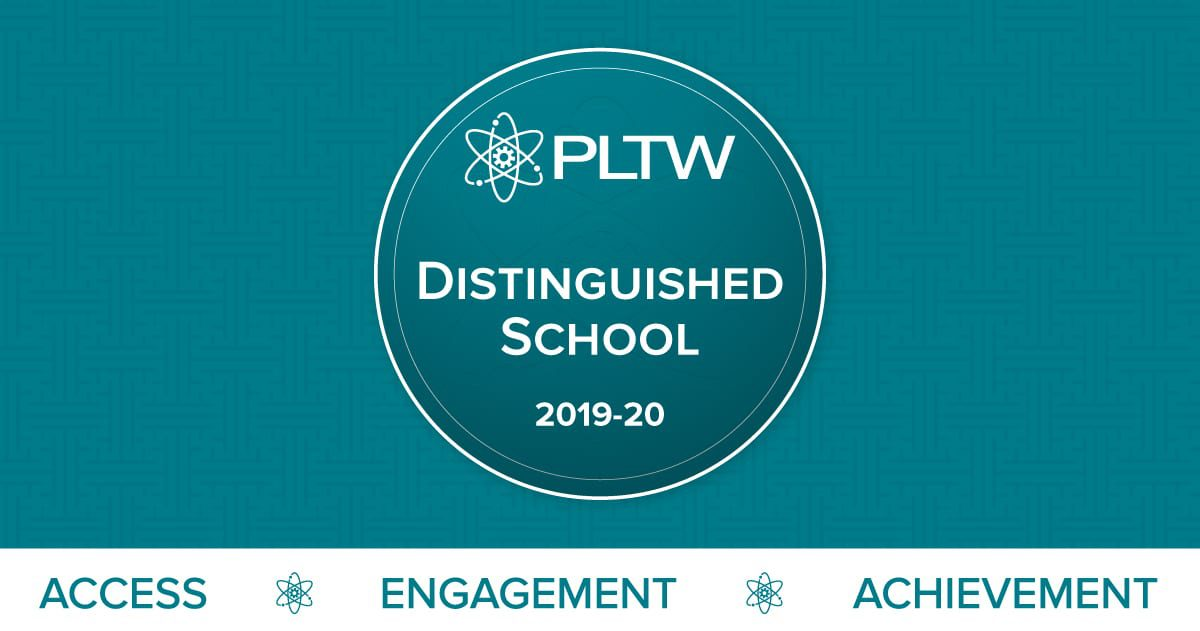 NCA is a Project Lead The Way (PLTW) Distinguished School