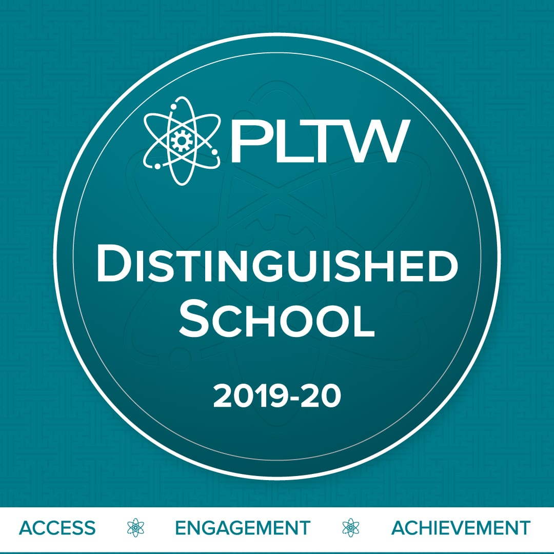 Northshore Christian Academy is a Project Lead The Way (PLTW) Distinguished School