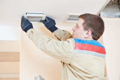professional air duct cleaner